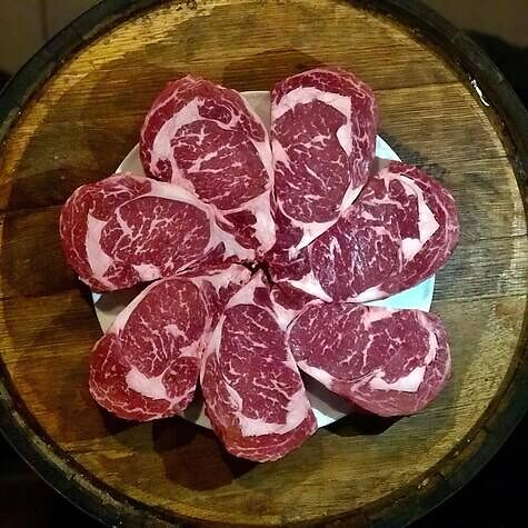All our steaks are aged a minimum of 28 days