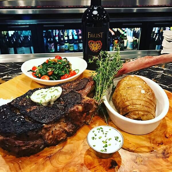 Steak lovers love ribeye